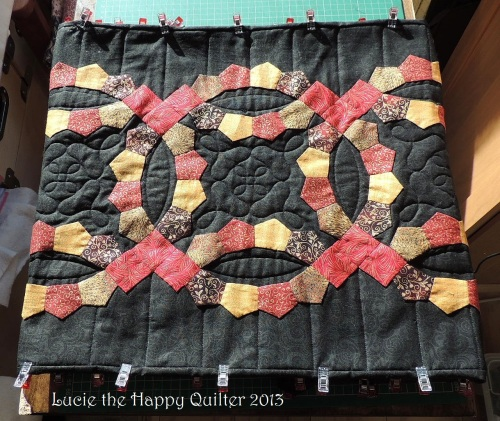 Helens table runner on the home stretach 2