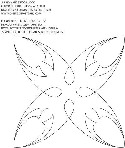 JS188V2 ART DECO BLK