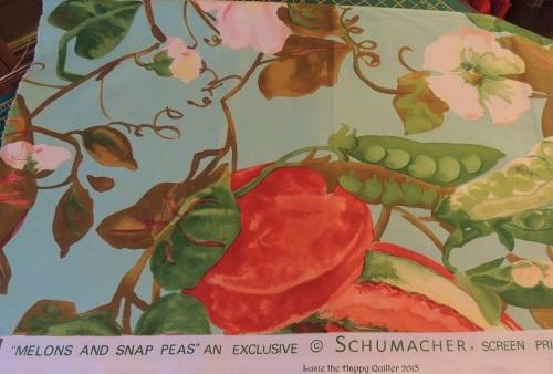 Melon & Snap Pea Chintz