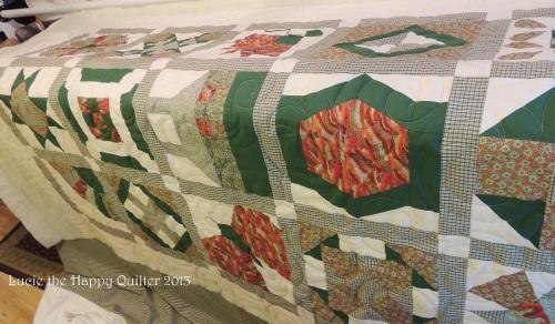 Pat's sampler quilt