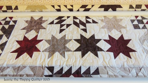 Kays star quilt 2