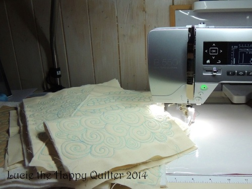 Freemotion Quilting today
