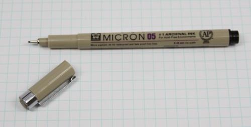 Sakura Micron Pen