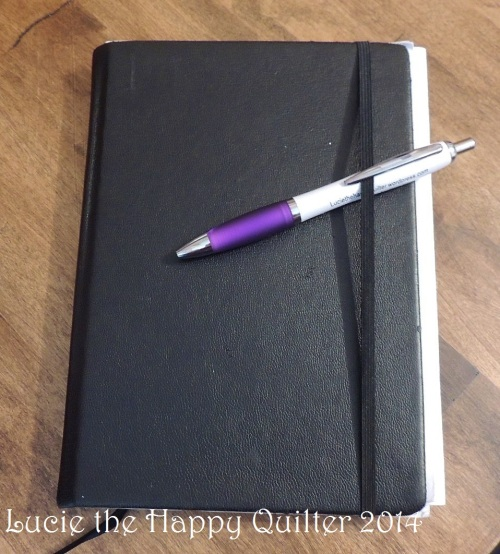 Happy Longarm Quilter notebook