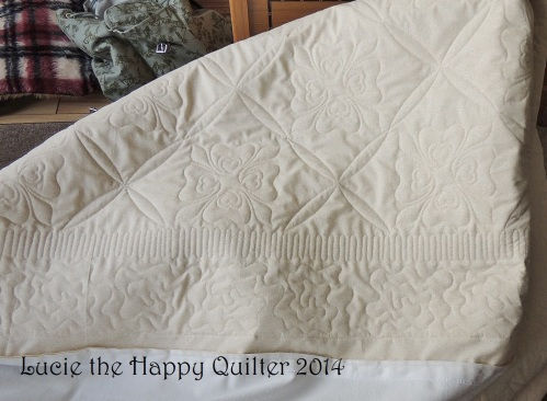 Nancys quilt back a