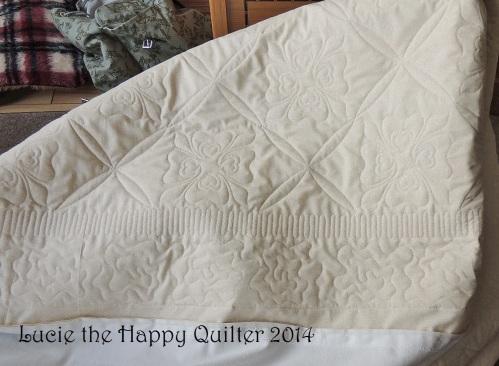 Nancys quilt back a