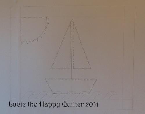 Sailboat drawing