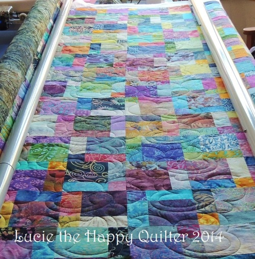 Susan's quilt with stitches 1