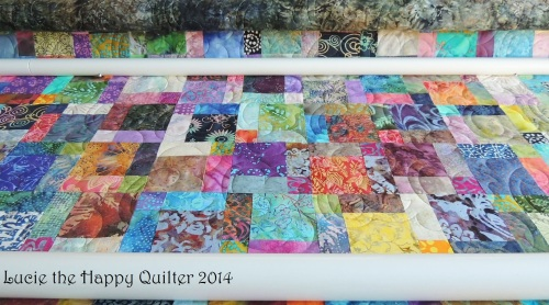 Susan's quilt with stitches 4