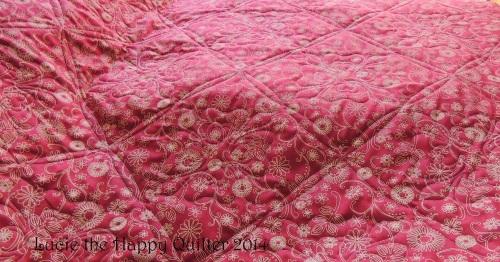 Back of Nancys quilt