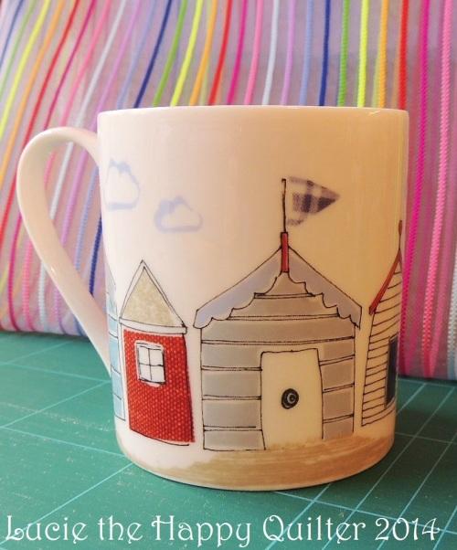 Gails beach hut mug