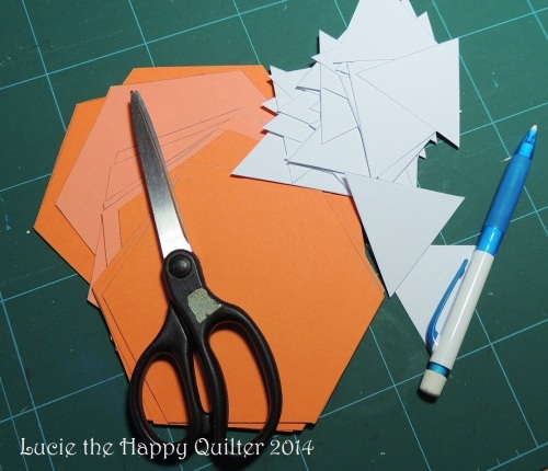 cutting templates for EPP