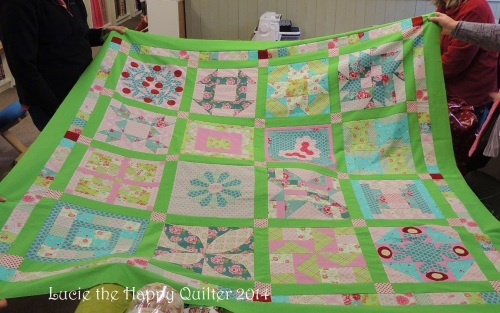 Marions Beginners Sample Quilt