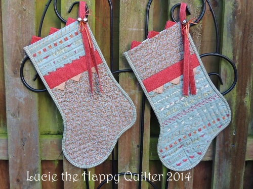 Christmas Stockings finished