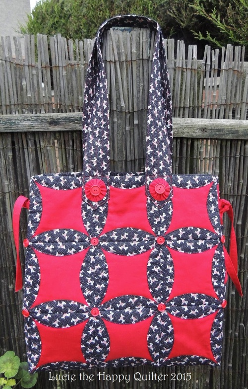 Japanese Folded Patchwork Bag 1