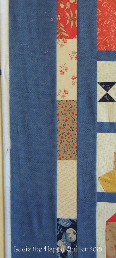 Adding borders to Row Quilt