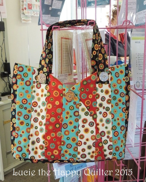 Barbara Sermi-Circle Scrippy Bag