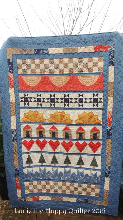 One Row at a Time Quilt saa