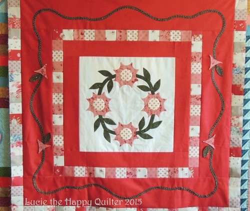 Hand Quilting Applique Project Sample