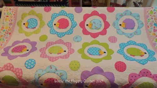 Karens Happy Hedgehog Quilt 2
