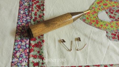 Pin basting tools