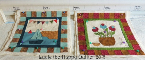 Individual layered whimsy blocks