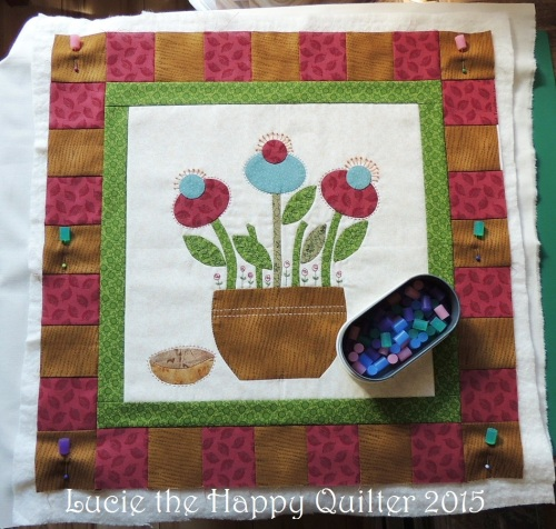 Layering Spring Whimsy block
