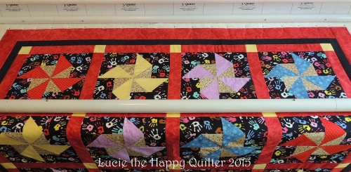 Pincushion Charity Quilt 1