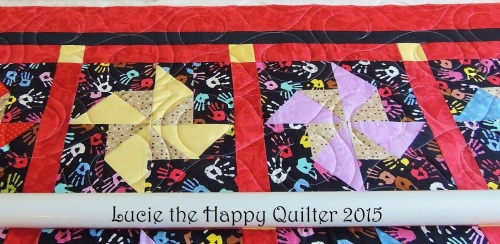 Pincushion charity quilt 3
