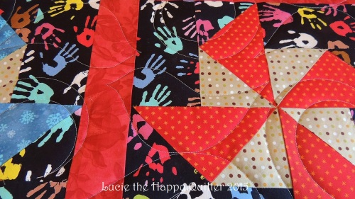 Pincushion charity quilt 4