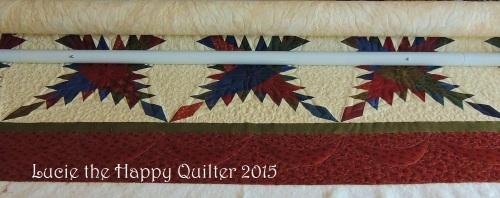 Sandra's custom quilt 1