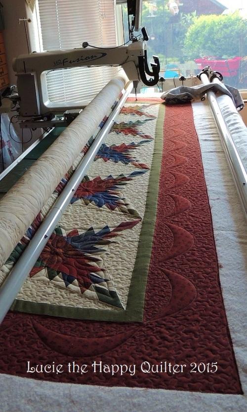 Sandra's custom quilt 2