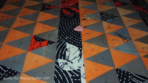 Sarahs charity quilt 2