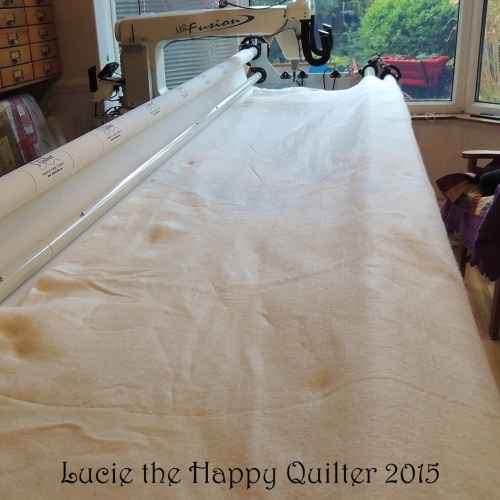 Tucking a quilt in