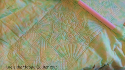 great result with quilting hoop