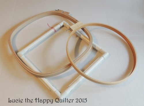 Quilting hoops