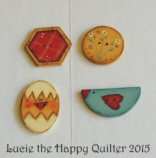Spring Whimsy Buttons
