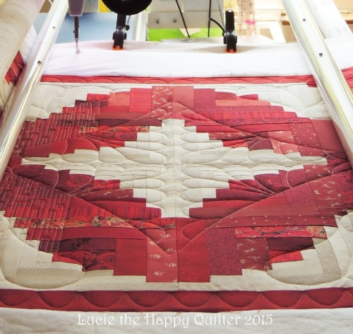 working on Gails quilt 33