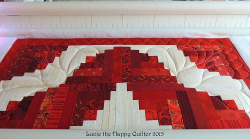 working on Gails quilt