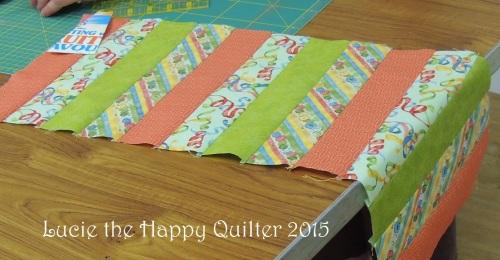 cutting mat bag day 1