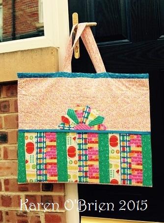 Karens finished bag