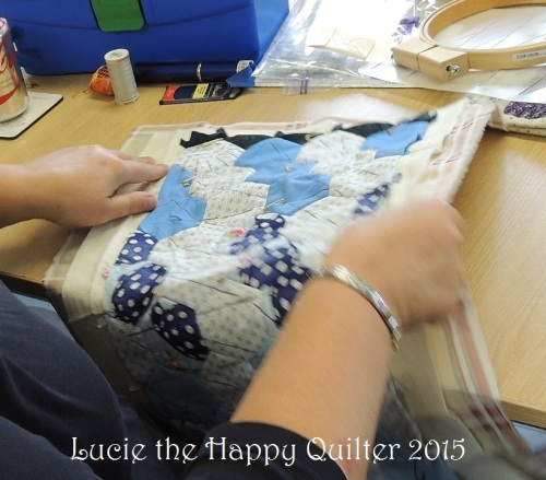 Hand quilting 3