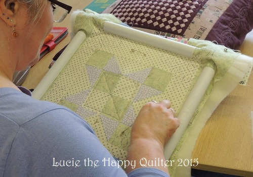 Hand quilting 4