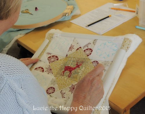 Hand quilting 5