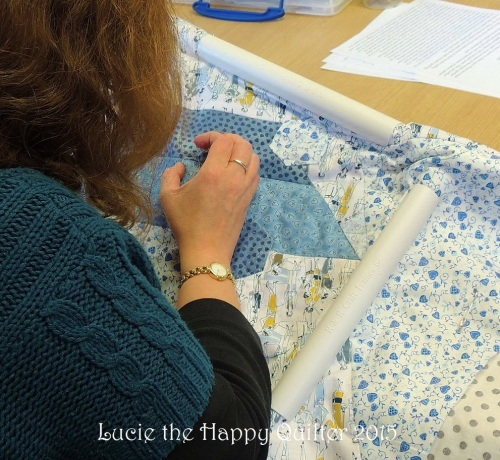 Hand quilting 6