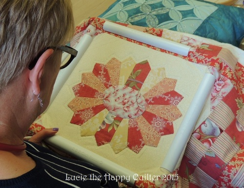 Hand quilting 7