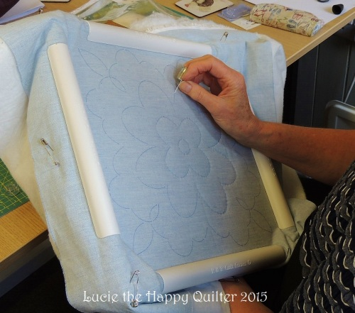 Hand quilting 8