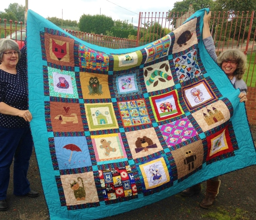 The Story Tellers Quilt Challenge