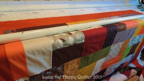 loading a quilt