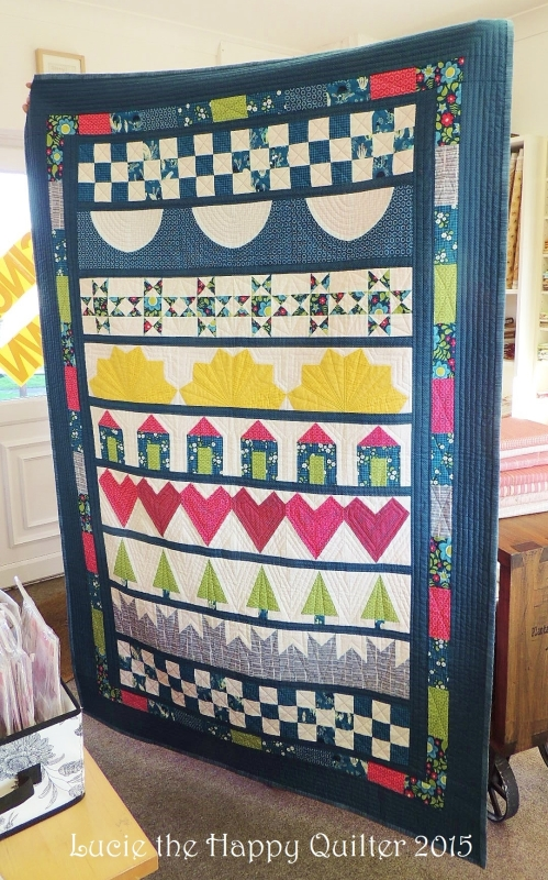 Lizs One Row Quilt - Copy